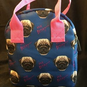 Betsey Johnson Pugs Lunch Tote